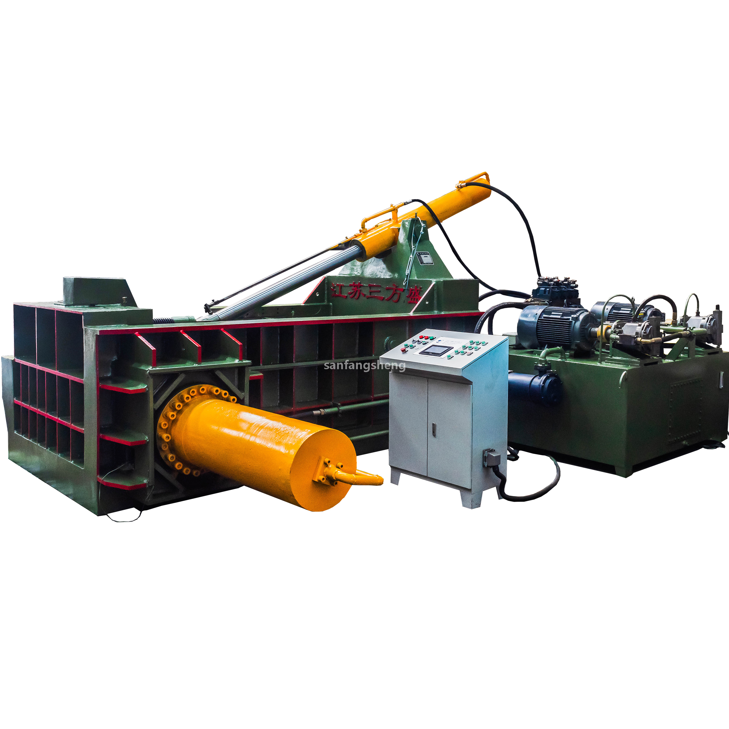 Y81T-315T Side-out Bag Series Metal Packager